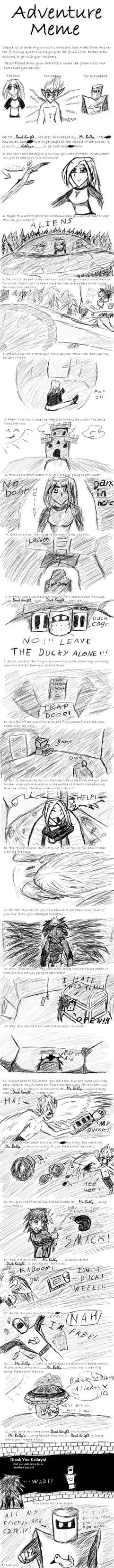 Jevolin 11: Adventure Meme by ChibiBoy108