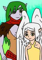 Jevolin 49: Attolan and Naiema by ChibiBoy108