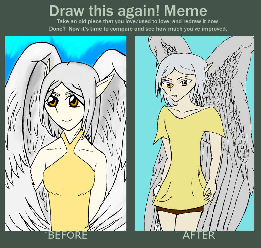 Before and After: Attolan by ChibiBoy108