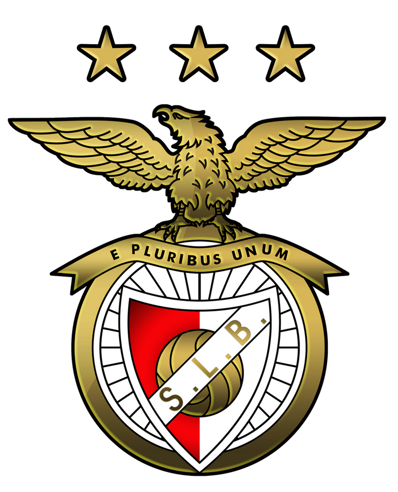 Benfica fond d' écran avec le logo du club