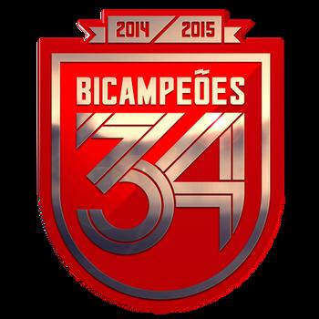 Benfica 34th Championship Badge