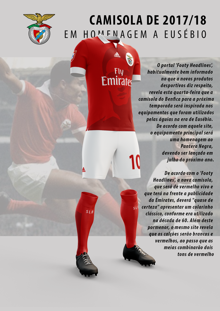 Equipamento Benfica 17-18 by MrMAU