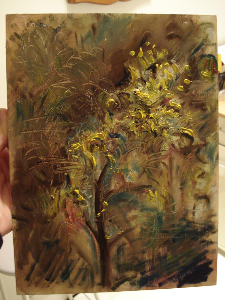 oil sketch by RobeG27