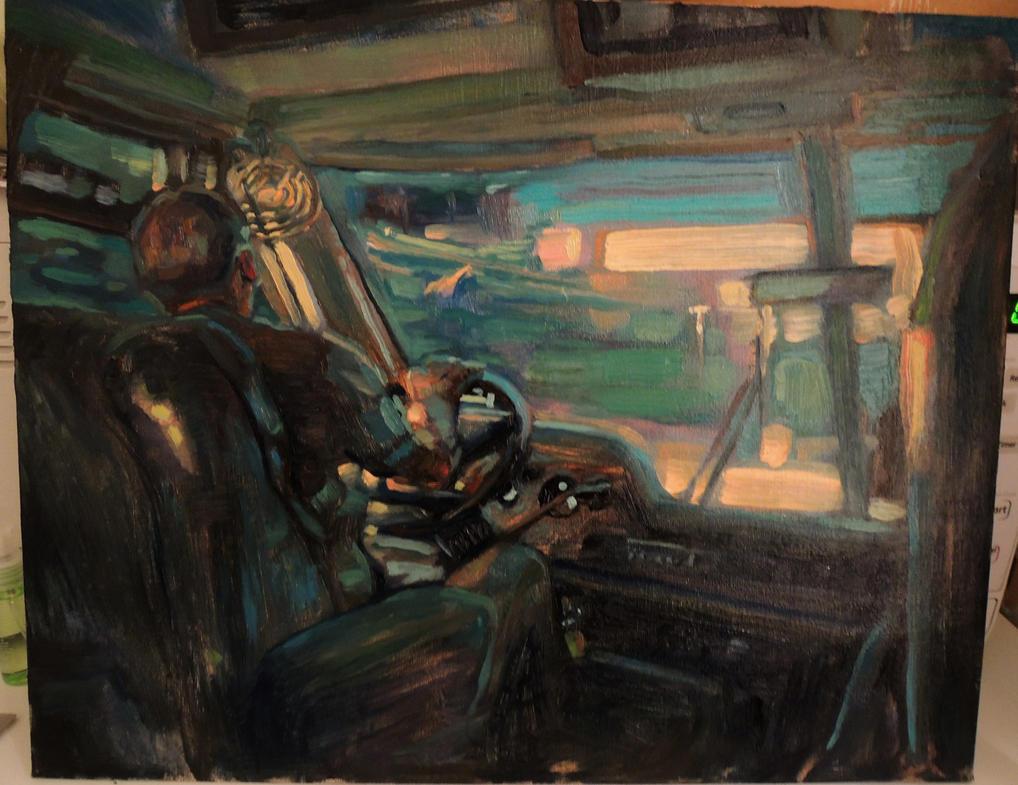 Dad Driving RV by RobeG27