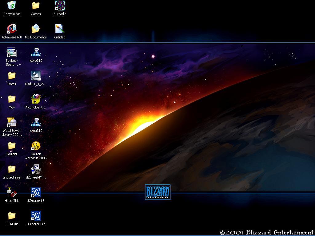 My desktop by Vanidar