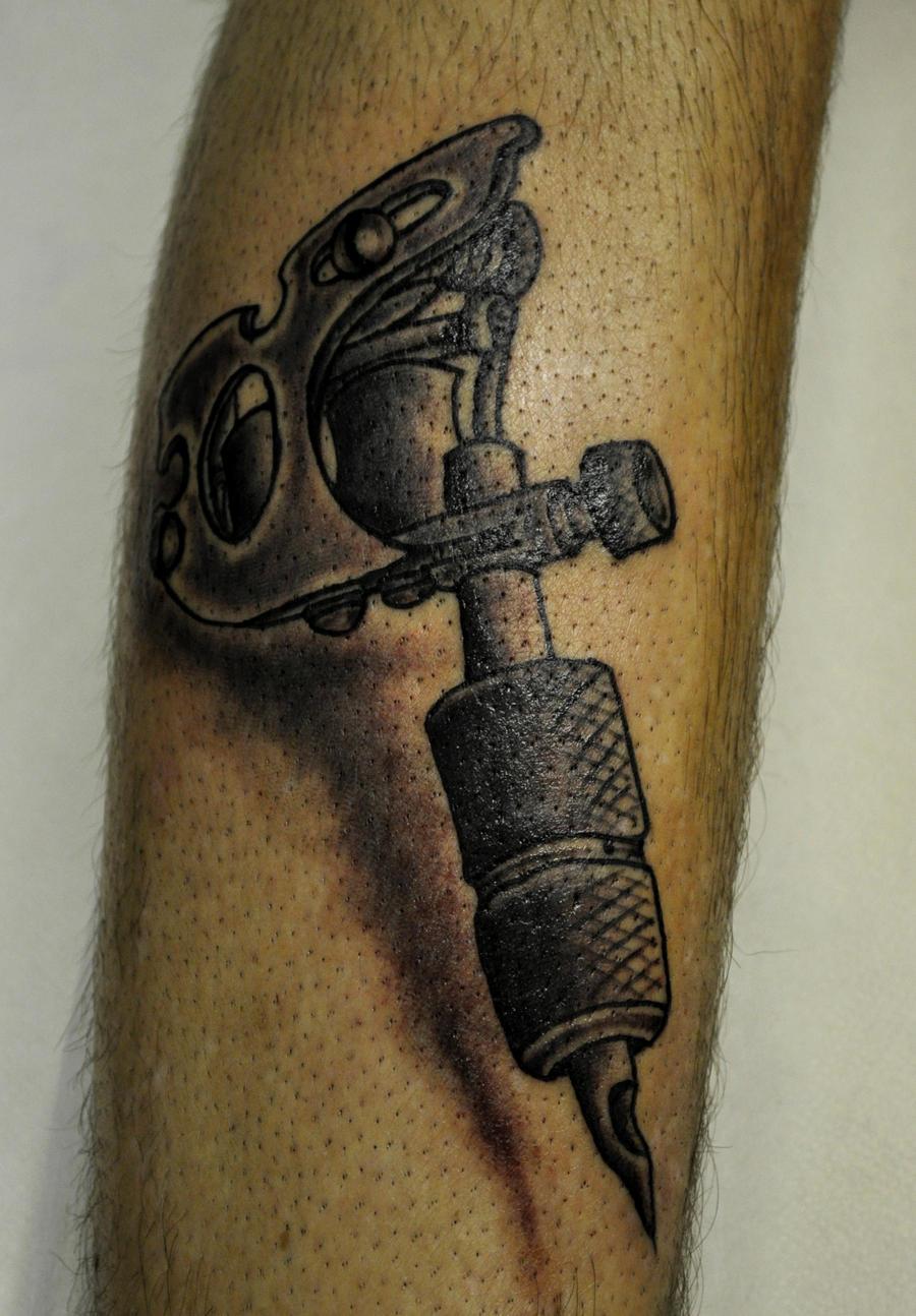 machine tattoos