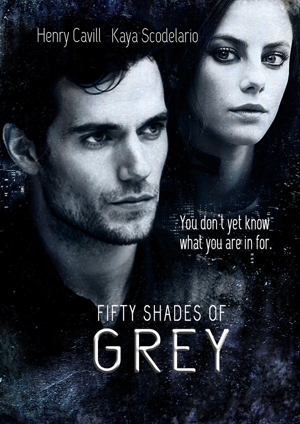 Fifty shades of grey movie poster by azarela90 on deviantart for Movie the fifty shades of grey