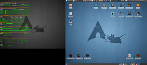 June Desktop 2014 - Arch Linux and Xfce 4.10