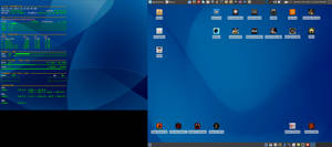 October Desktop 2014 - Arch Linux and Xfce by hamishpaulwilson