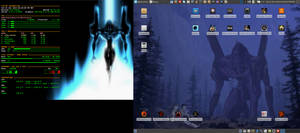 November Desktop 2014 - Arch Linux and Xfce by hamishpaulwilson