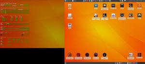 May 2015 Desktop - Arch Linux and Xfce