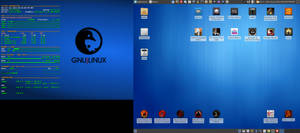 June 2015 Desktop - Arch Linux and Xfce
