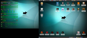 September 2015 Desktop - Arch Linux and Xfce by hamishpaulwilson