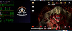 June 2016 Desktop - Arch Linux and Xfce