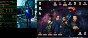 September 2016 Desktop - Arch Linux and Xfce