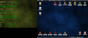 March 2017 Desktop - Arch Linux and Xfce
