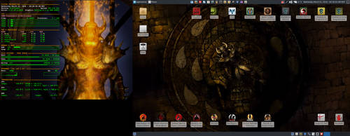 March 2018 Desktop - Arch Linux and Xfce by hamishpaulwilson