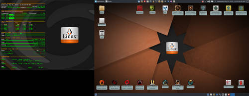 May 2019 Desktop - Arch Linux and Xfce by hamishpaulwilson