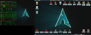 November 2019 Desktop - Arch Linux and Xfce