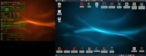 January 2020 Desktop - Arch Linux and Xfce