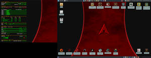 October 2020 Desktop - Arch Linux and Xfce