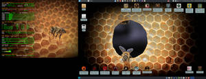 July 2021 Desktop - Arch Linux and Xfce