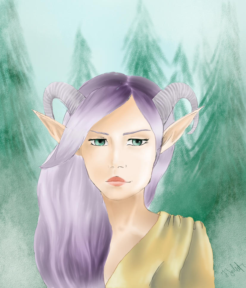 Elf Sytir by HELENMOONCHILD