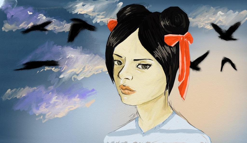 Chun Li by HELENMOONCHILD