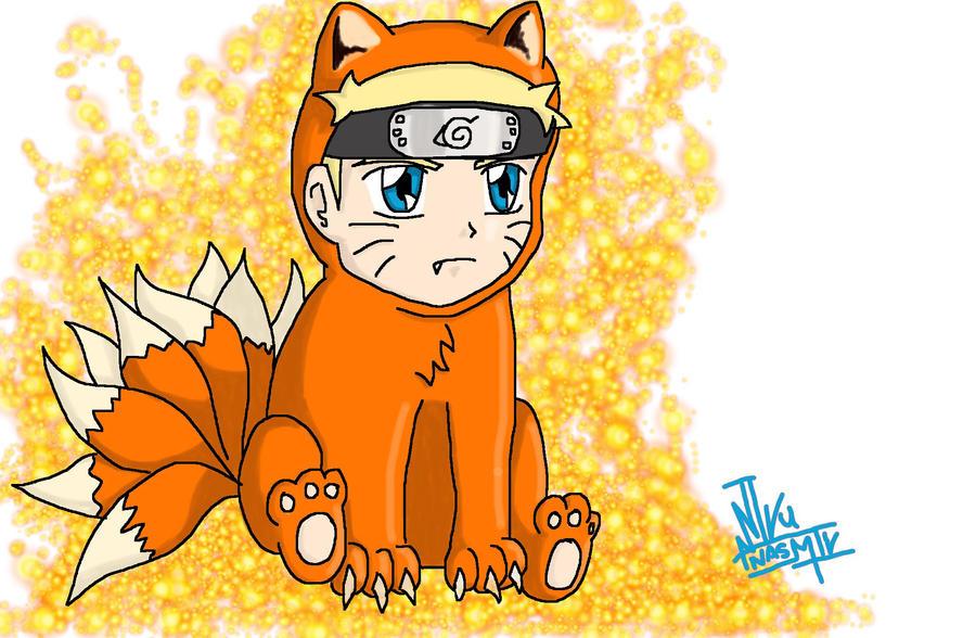 Naruto Chibi Kyubi by NasmikAniku on deviantART