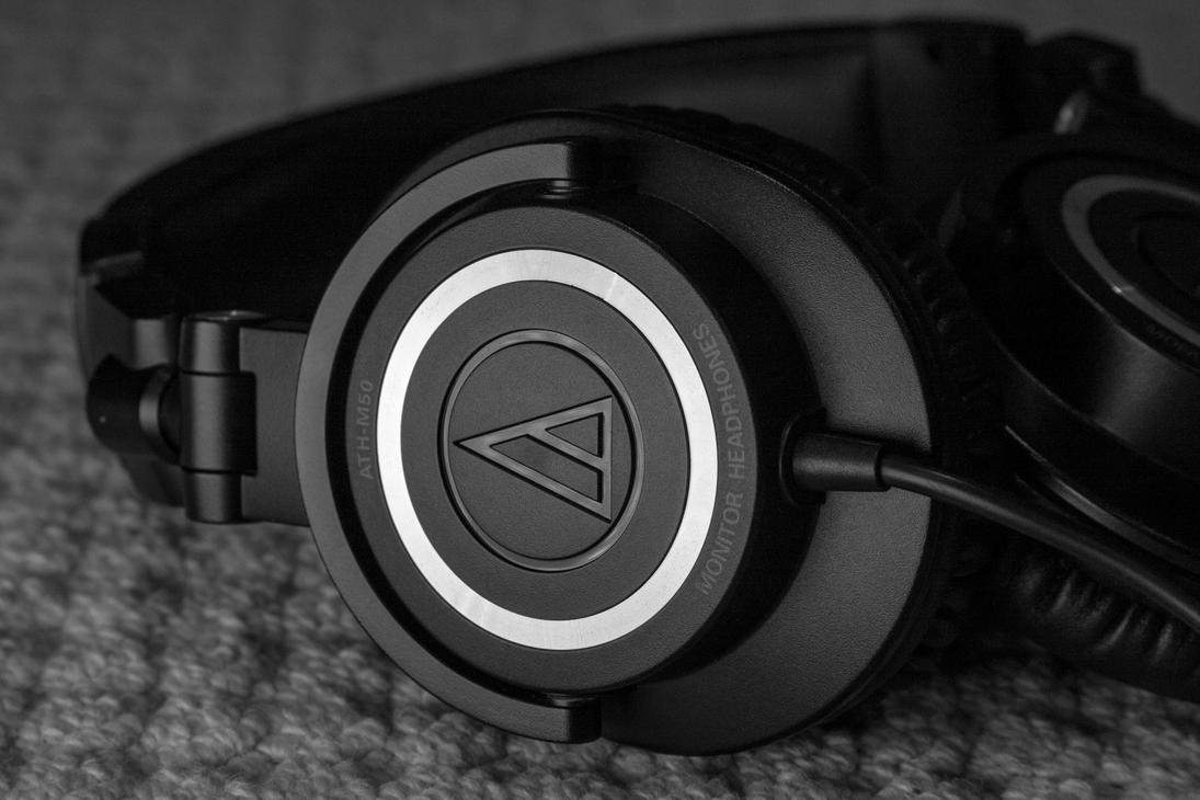 Audio Technica ATH-M50 by briant1234