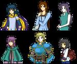 FEDM protagonists.