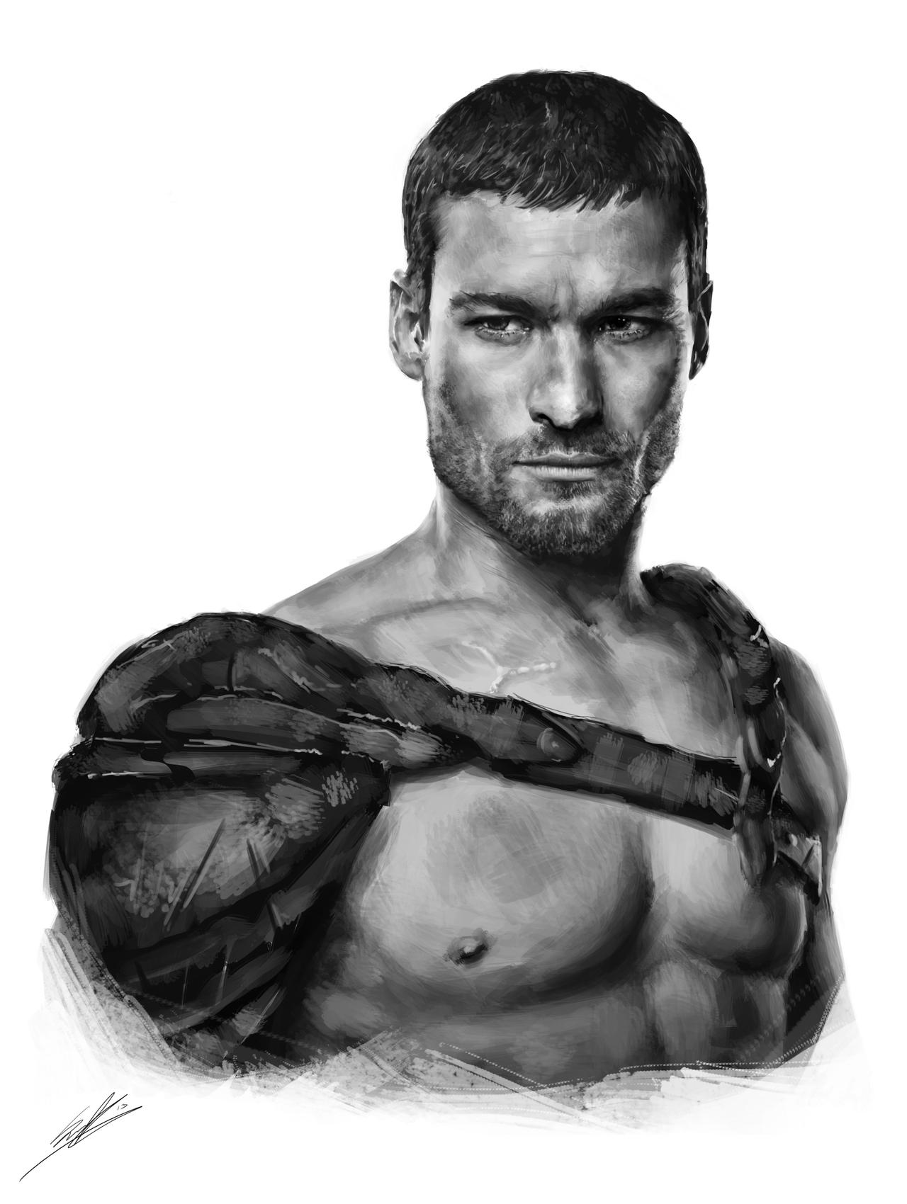 Marcus Aurelius Andy_whitfield_sketch_by_scoffsart-d6iyaf8