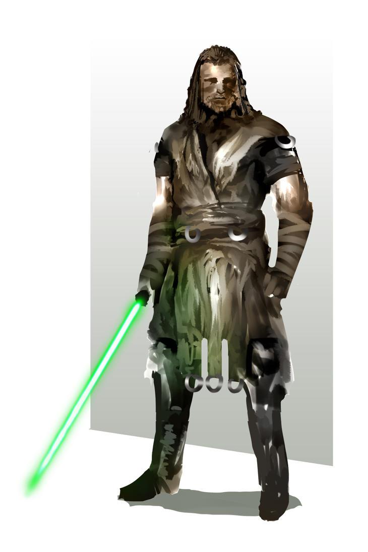 Jedi Yal'nir by ScoffsArt
