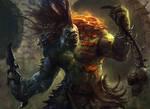 Varolz the Scar Striped (Dragons Maze)