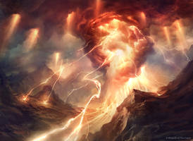 Thunderous Wrath (Miracle, M13) by AdamPaquette