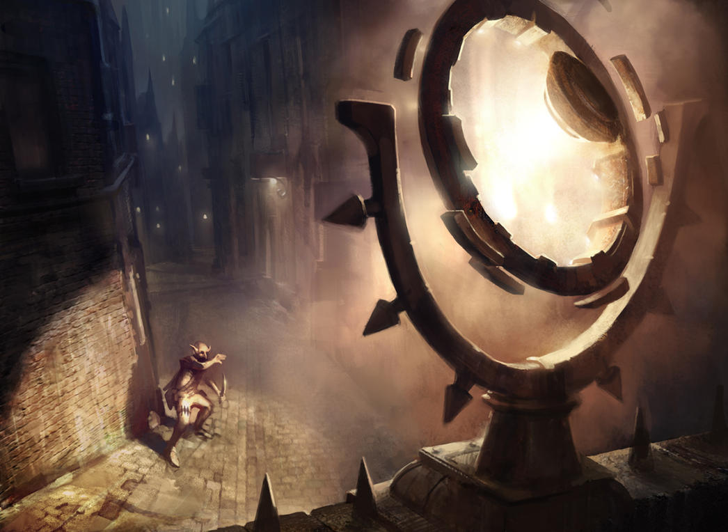 Glaring Spotlight (Gatecrash) by AdamPaquette