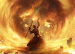 Fated Conflagration by AdamPaquette