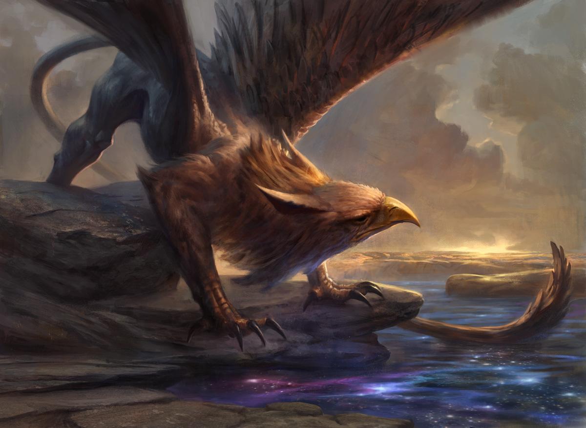 Griffin Dreamfinder by AdamPaquette