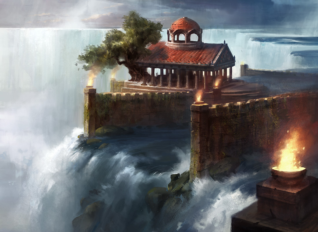 temple of mystery by adampaquette on deviantart