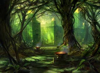 Forest (Alt) by AdamPaquette