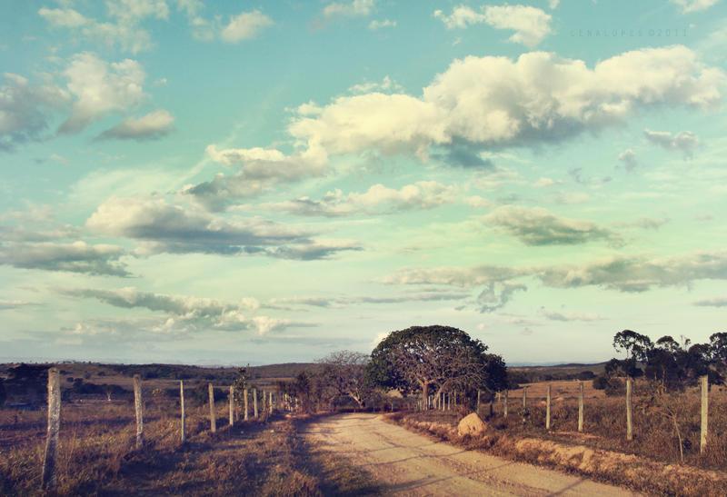 country sky by LyraWhite