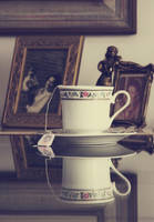 portraits and tea by LyraWhite