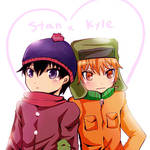 South Park-stan and kyle