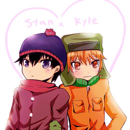 South Park Anime Kenny X Kyle South park-stan and kyle