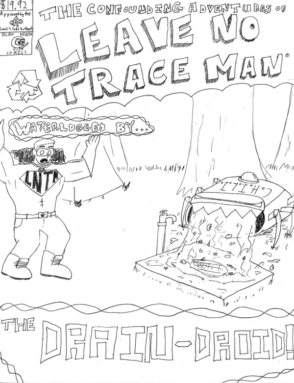 leave no trace coloring page leave no trace sketch coloring page