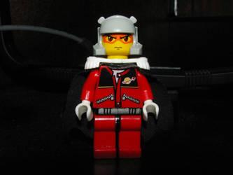 Lego Char Aznable by Bleu-Ninja