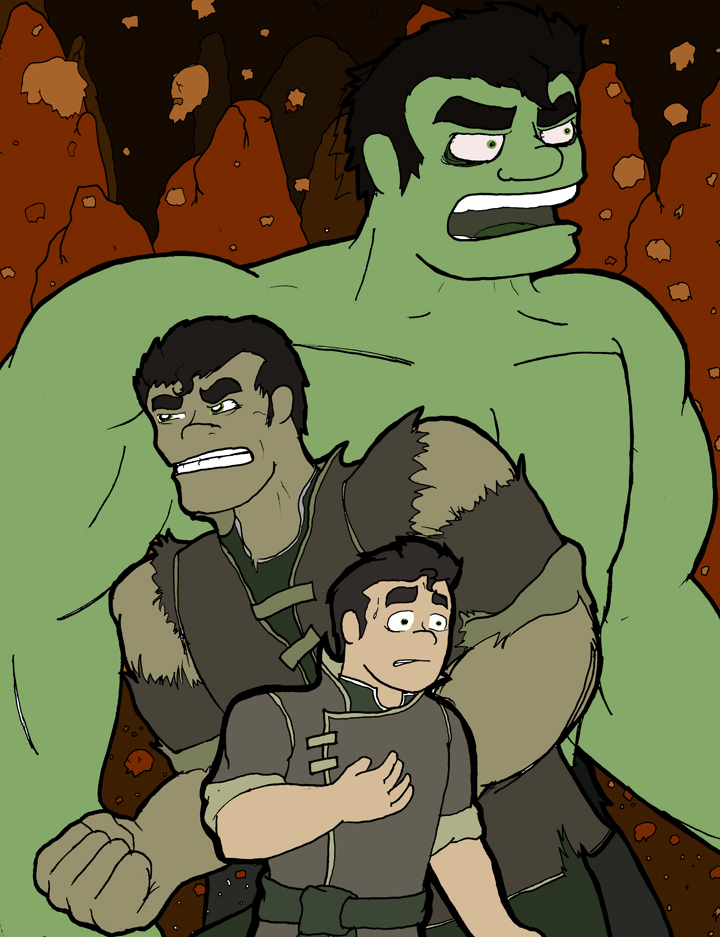 BOLIN SMASH! by Bleu-Ninja