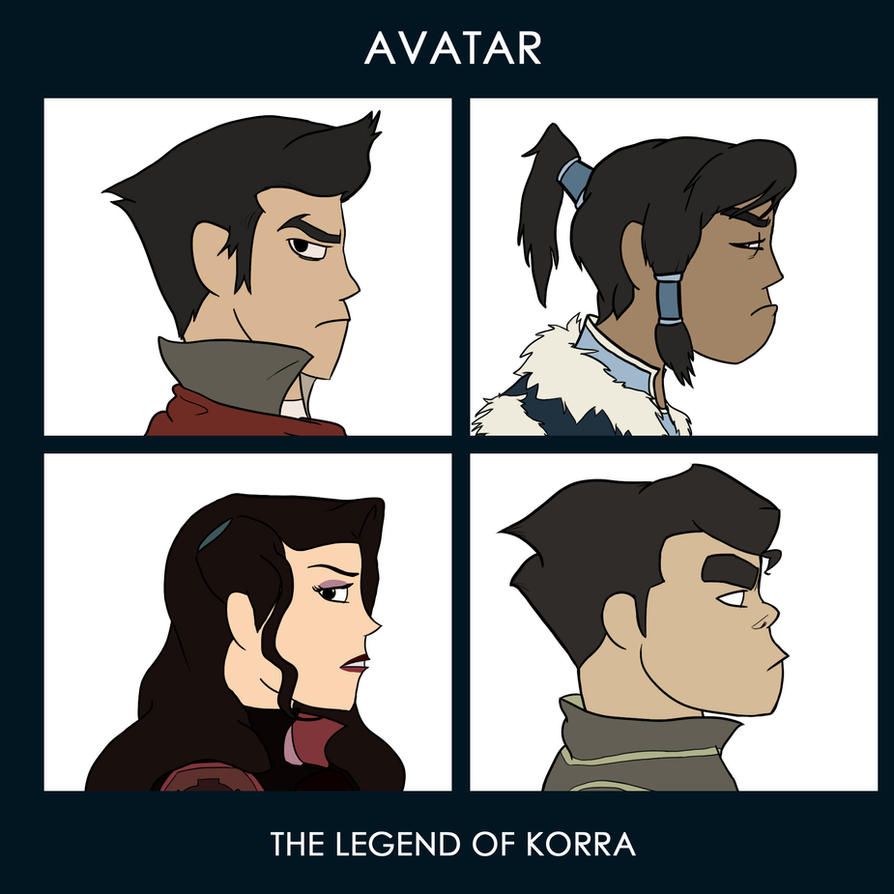 Legend of Korra 'Demon Days' by Bleu-Ninja