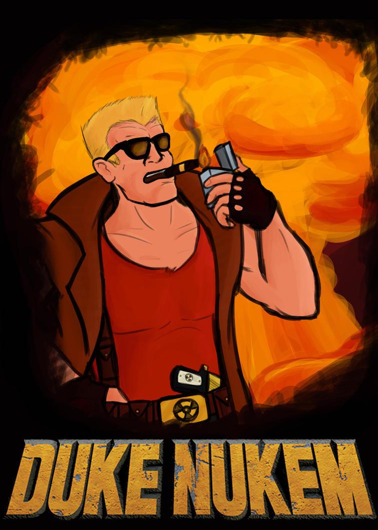 Duke's the man by Bleu-Ninja