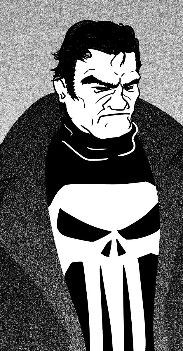 Punisher by Bleu-Ninja